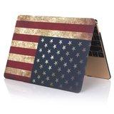 MacBook Air 13 inch - Touch id versie - Retro USA flag (2018, 2019 & 2020)_