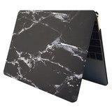 MacBook Pro Retina 15 inch case - Marble - zwart_