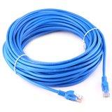 15m CAT5E Ethernet netwerk LAN kabel (10000 Mbit/s) - Blauw_