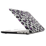MacBook Pro 13 inch cover - Leopard Paars_