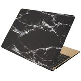 MacBook Pro 15 inch case - Marble - zwart_