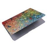 MacBook Air 13 inch cover - Color birds (A1369 / A1466)_