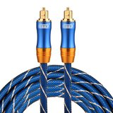 ETK Digital Toslink Optical kabel 3 meter / audio male to male / Optische kabel BLUE series - Blauw_