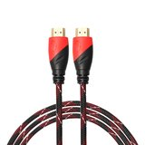 HDMI kabel 1.8 meter - HDMI 1.4 versie - High Speed - HDMI 19 Pin Male naar HDMI 19 Pin Male Connector Cable - Red line_