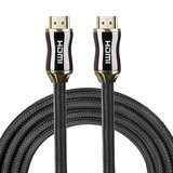 HDMI kabel 1 meter - HDMI 2.0 versie - High Speed - HDMI 19 Pin Male naar HDMI 19 Pin Male Connector Cable - Black line_