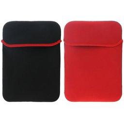 11.6 inch soft sleeve - Zwart / Rood