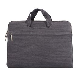 Denim laptoptas 13.3 inch - Grijs