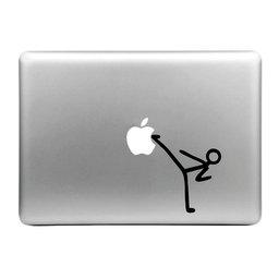 MacBook sticker - kick apple