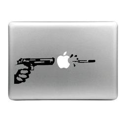 MacBook sticker - Pistool