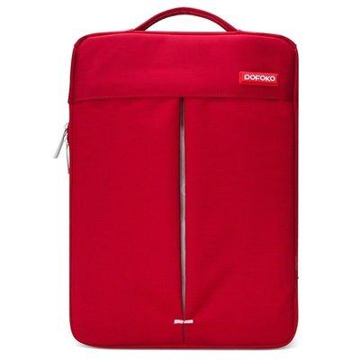 POFOKO 11.6 inch portable laptoptas - Rood