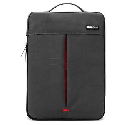 POFOKO 11.6 inch portable laptoptas - Zwart