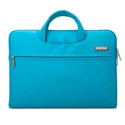 POFOKO 12 inch laptoptas - Blauw