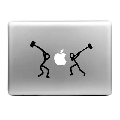 MacBook sticker - Hammer
