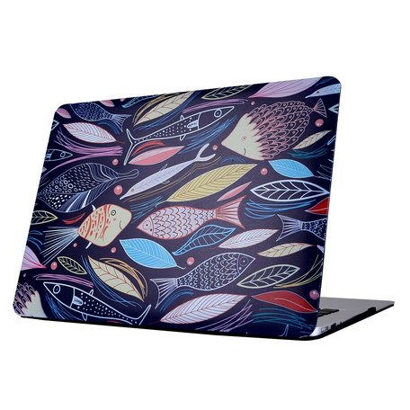 MacBook Pro retina touchbar 13 inch case - Fishes