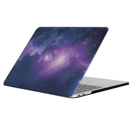 MacBook Pro retina touchbar 13 inch case - Blue stars