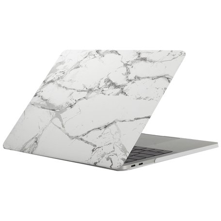 MacBook Pro retina touchbar 13 inch case - marble grijs