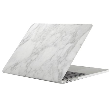 MacBook Pro retina touchbar 13 inch case - marble wit