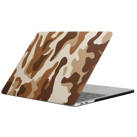 MacBook Pro retina touchbar 13 inch case - camo bruin