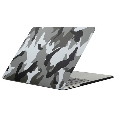 MacBook Pro retina touchbar 13 inch case - camo wit