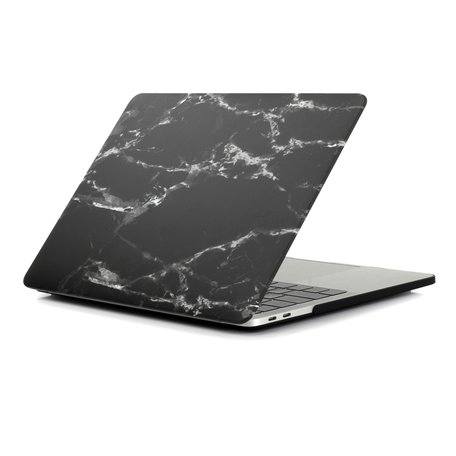 MacBook Pro 16 inch case - Marble zwart