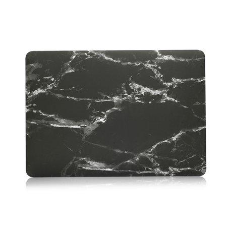 MacBook Pro 15 Inch Touchbar (A1707 / A1990) Case - Marble zwart