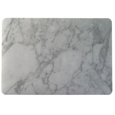 MacBook Air 13 inch case - Marble - wit