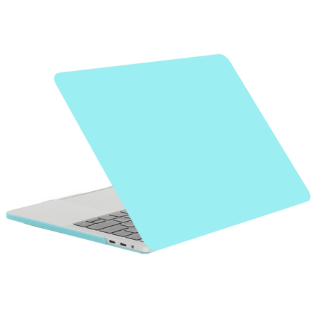 MacBook Pro retina touchbar 13 inch case - pastelblauw