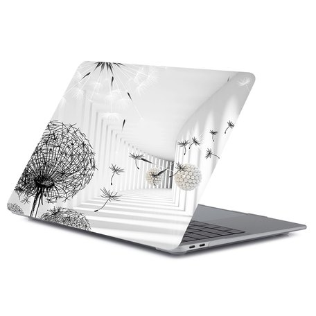 MacBook Air 13 inch case 2018 - Paardebloem (A1932, touch id versie)