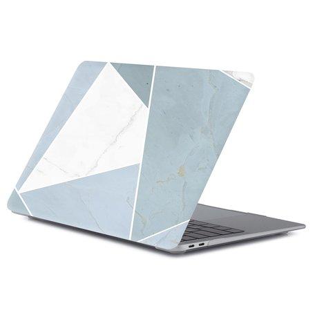 MacBook Pro touchbar 13 inch case - Grijs abstract