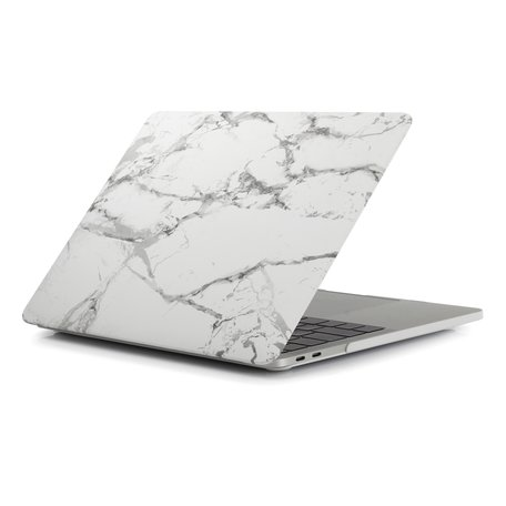 MacBook Pro 15 Inch Touchbar (A1707 / A1990) Case - Marble grijs
