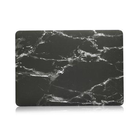 MacBook Pro 16 inch case - Marble zwart
