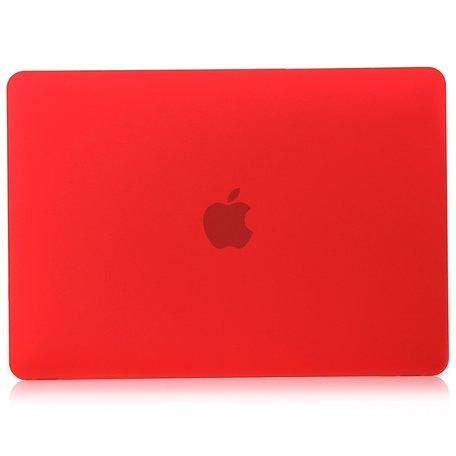 MacBook Air 13 inch case 2018 - rood (A1932, touch id versie)