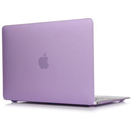 MacBook Air 13 inch case 2018 - paars (A1932, touch id versie)