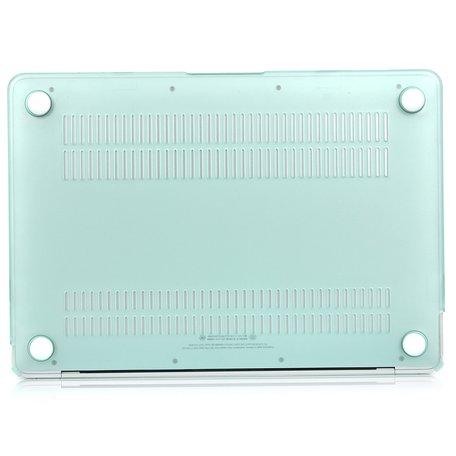 MacBook Air 13 inch case 2018 - groen (A1932, touch id versie)