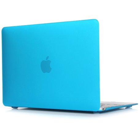 MacBook Air 13 inch case 2018 - licht blauw (A1932, touch id versie)