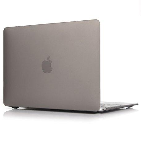 MacBook Air 13 inch case 2018 - grijs (A1932, touch id versie)