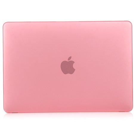 MacBook Air 13 inch case 2018 - roze (A1932, touch id versie)