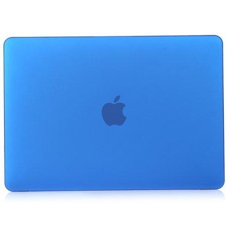 MacBook Air 13 inch case 2018 - donker blauw (A1932, touch id versie)