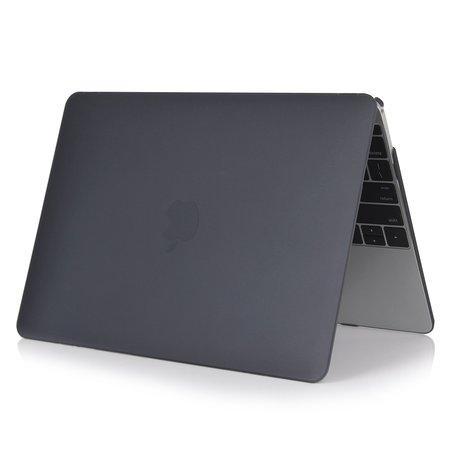 MacBook Air 13 inch case 2018 - Zwart (A1932, touch id versie)