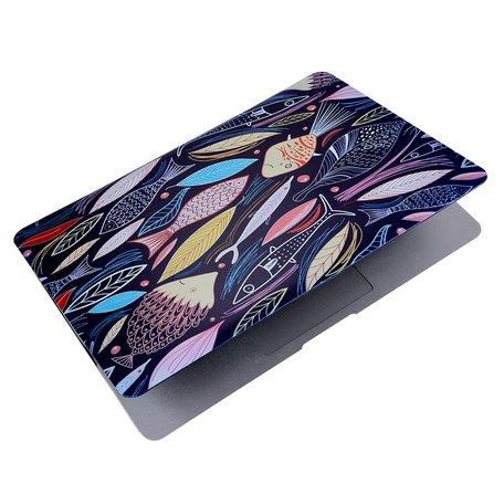 MacBook Pro retina touchbar 13 inch case - Fishes