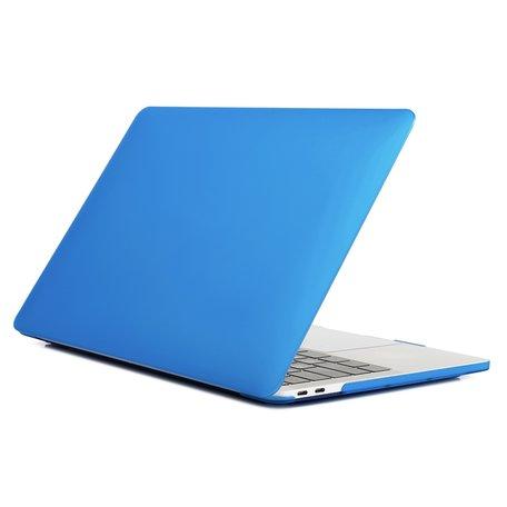 MacBook Pro Touchbar 13 inch case - 2020 model - Blauw