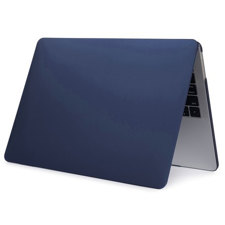 MacBook Pro Touchbar 13 inch case - 2020 model - Donkerblauw