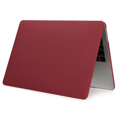 MacBook Pro Touchbar 13 inch case - 2020 model - Wijnrood