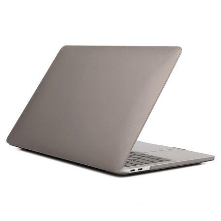 MacBook Pro Touchbar 13 inch case - 2020 model - Grijs