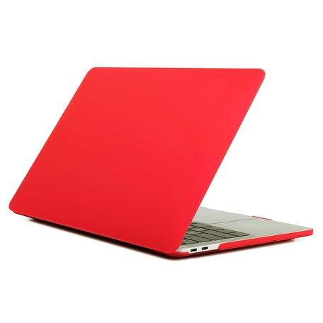MacBook Pro Touchbar 13 inch case - 2020 model - Rood