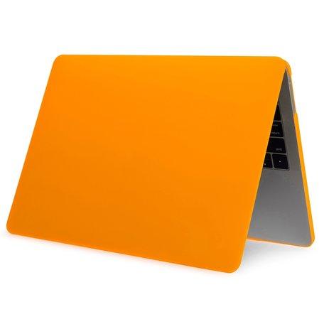 MacBook Pro Touchbar 13 inch case - 2020 model - Oranje