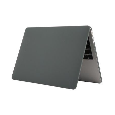 MacBook Pro Touchbar 13 inch case - 2020 model - Donkergroen