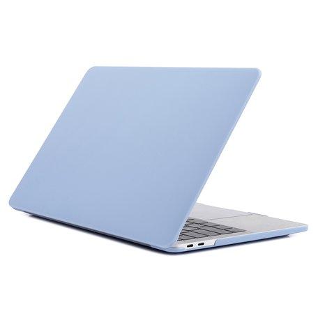 MacBook Pro Touchbar 13 inch case - 2020 model - Pastel blauw