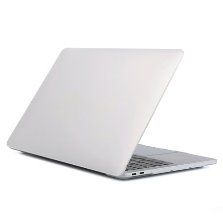 MacBook Pro Touchbar 13 inch case - 2020 model - Transparant (mat)