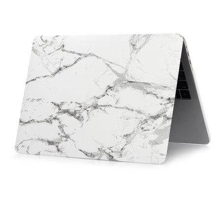 MacBook Pro 15 Inch Touchbar (A1707 / A1990) Case - Marble grijs